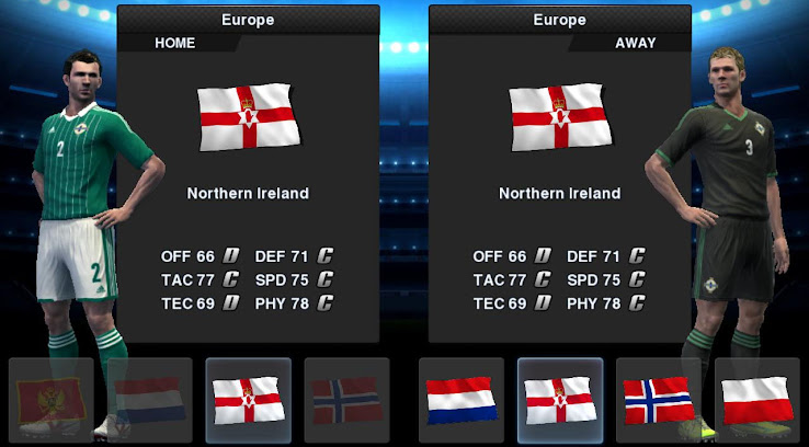 PES 2013 Northern Ireland 12 13 Kit Set by Tottimas