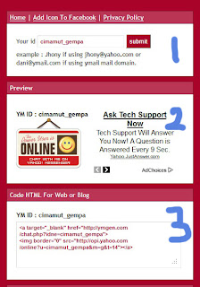 ... Icon YM Status Online/Offline di Blogspot | Edukasi Teknik Sipil