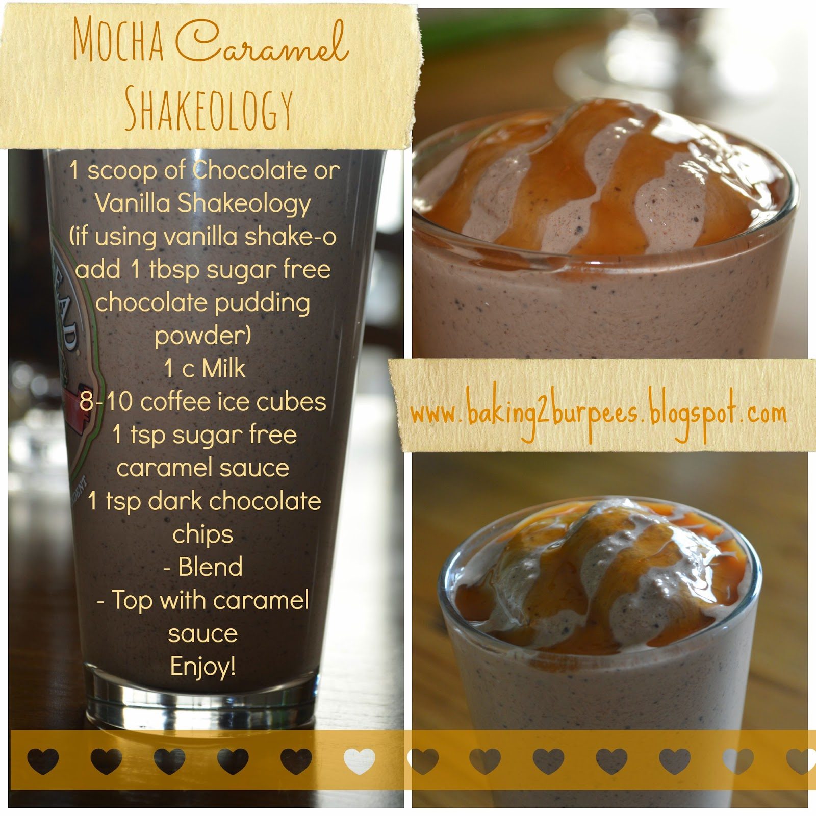 Erin Traill, Pittsburgh, mom, nurse, recipe, starbucks recipe, mocha, caramel, shakeology, weight loss, healthy recipe, coffee, dark chocolate