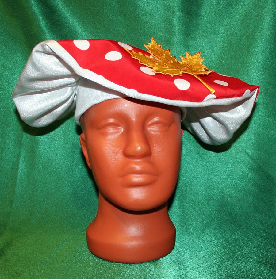 Шляпа гриба для мальчика своими руками