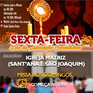 IGREJA MATRIZ DE SANT'ANA E SÃO JOAQUIM