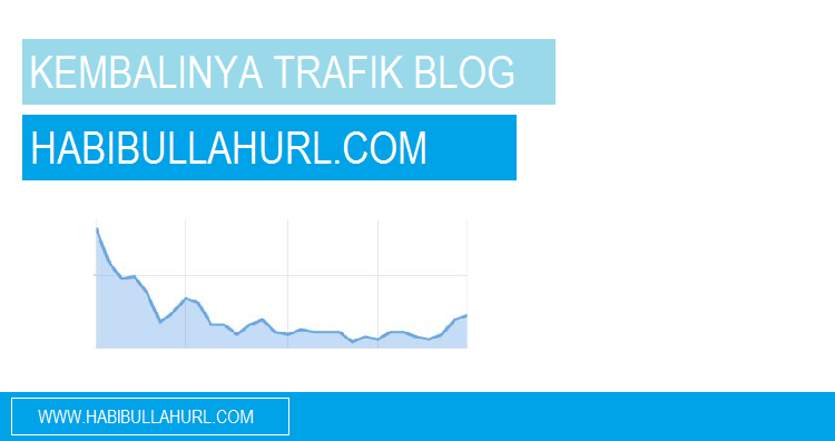 Trafik Blog HabibullahURL.com
