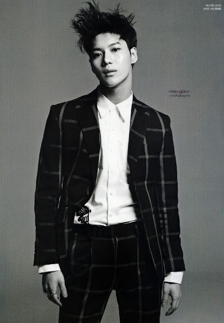 shinee taemin l'officiel hommes 2013