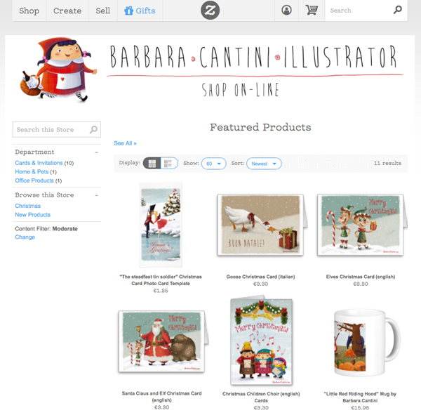 Shop online on Zazzle: