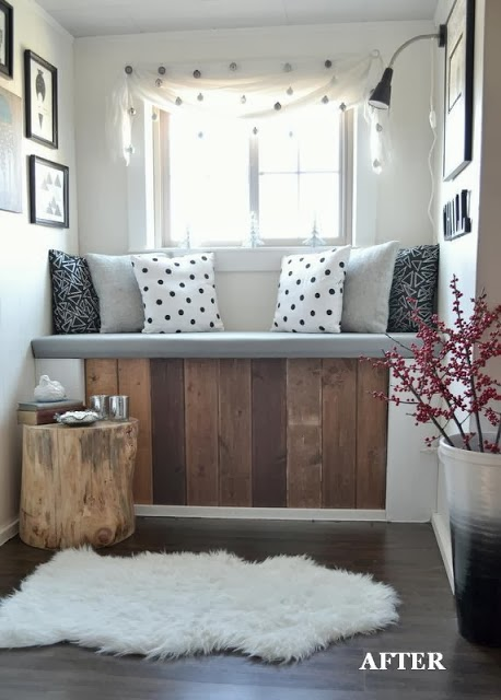home garden 30 id es pour am nager un coin sous la fen tre. Black Bedroom Furniture Sets. Home Design Ideas