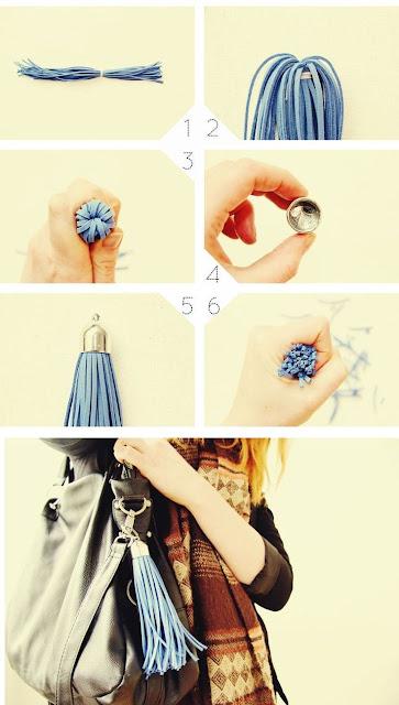 Tutorial diy como fazer berloque para mala ou bolsa