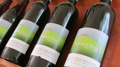 Coyote's Run Winery Five Mile Red