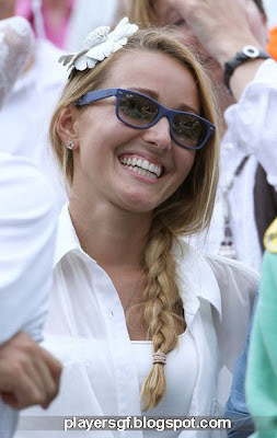 Novak Djokovic's girlfriend Jelena Ristic