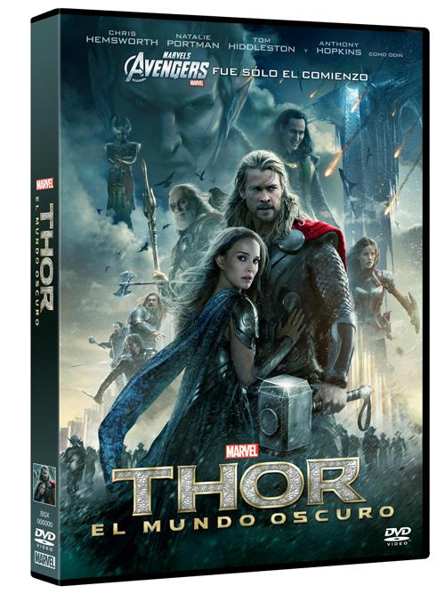 Lanzamiento Blu-Ray / DVD de Thor: El mundo oscuro