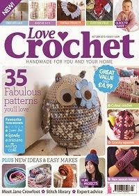 .Love crochet owl doorstop