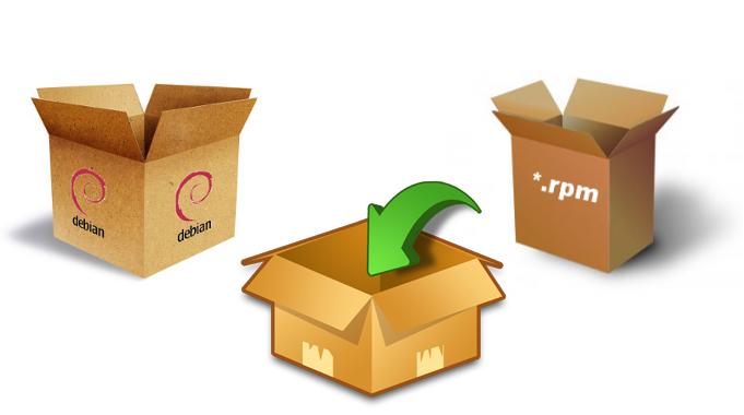Crea paquetes rpm y deb desde cualquier distribución Linux