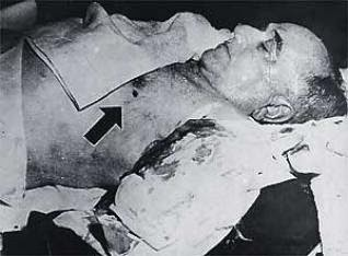 Resultado de imagem para imagem de getulio vargas morto