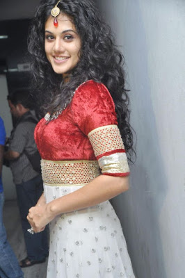tapsee gorgeous at dharuvu audio launch hot photoshoot