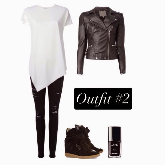 Fashion Style Rocker Chic Outfit CHANEL