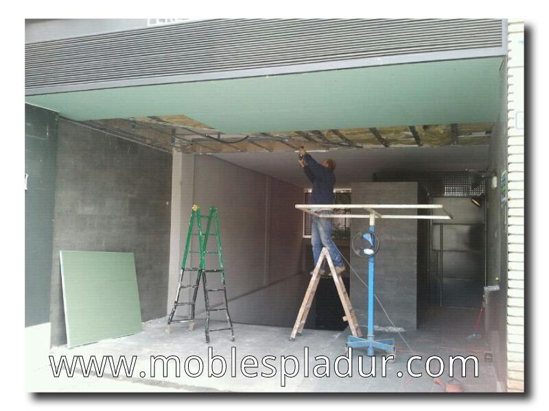 Pladur barcelona falso techo de pladur - Falsos techos de pladur ...