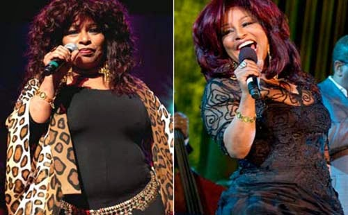 Chaka Khan before and after her weight loss