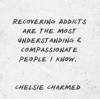 quote: recovering addict are compassionate