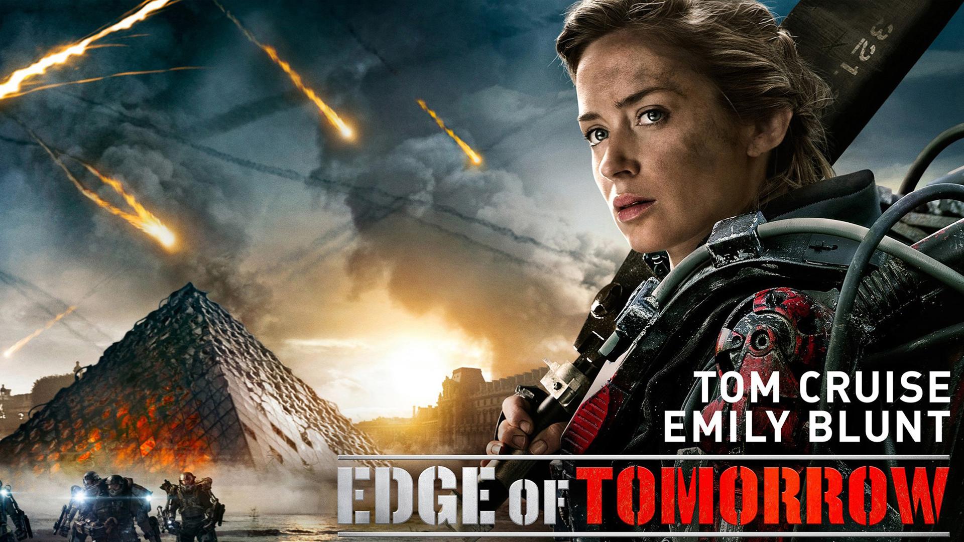 blunt as rita in edge of tomorrow 2014 hd girl action sci fi movie ...