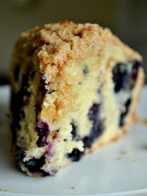 i talk to food: Blueberry Lemon Coffee Cake