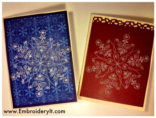 embroidery machine cards