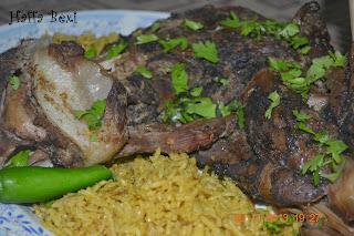baked lamb, bhuni hoi raan, Eid ul azha recipes, goat leg roast, lamb recipes, Meat, Mutton leg roast, pakistani recipe, raan, Mutton leg steam, leg recipes,