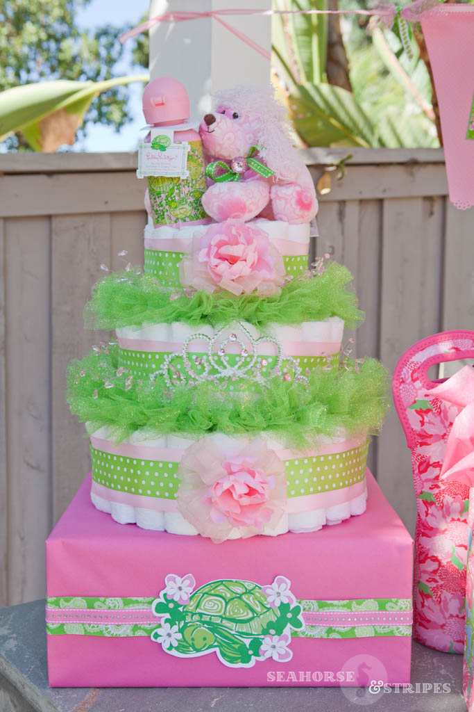 lilly pulitzer baby shower