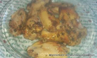 Pollo con Parchita - Chicken with Passion Fruit