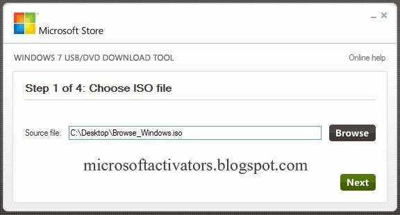 windows 7 usb dvd download tool free download