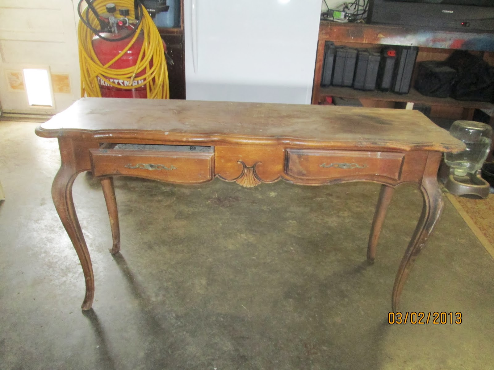 Ethan Allen Sofa Table