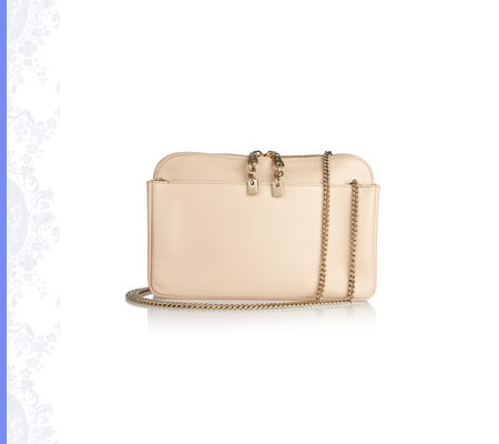Grace Intemporelle: Chloé, Lucy leather clutch