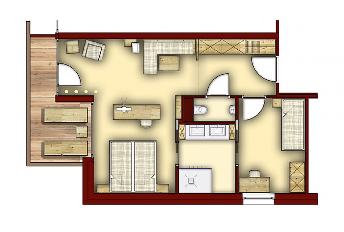 Sharing Few More Plan Layouts Of Hotel Room. :) Part 53