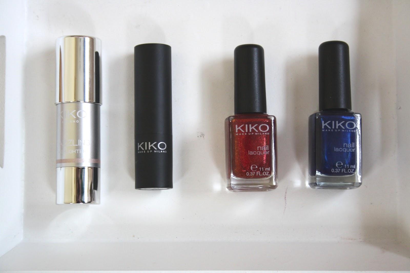 Beauty and Lifestyle Blog: Kiko Makeup | Haul