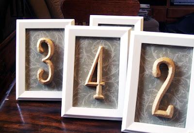 semplicemente perfetto elegante shabby vintage diy numeri tavoli matrimonio