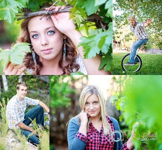 Tia Stout Photography Reasons To Get Your Senior Portraits - 10 portrait photos of people before after the photographer kissed them