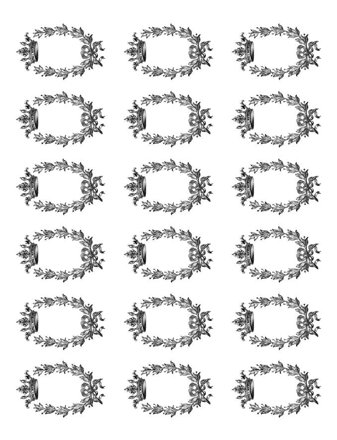 Oval Label Template Free Download Nangguk Sticker