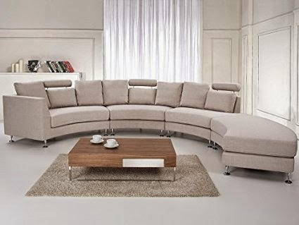 Charmant Curved Sectional Sofa Canada