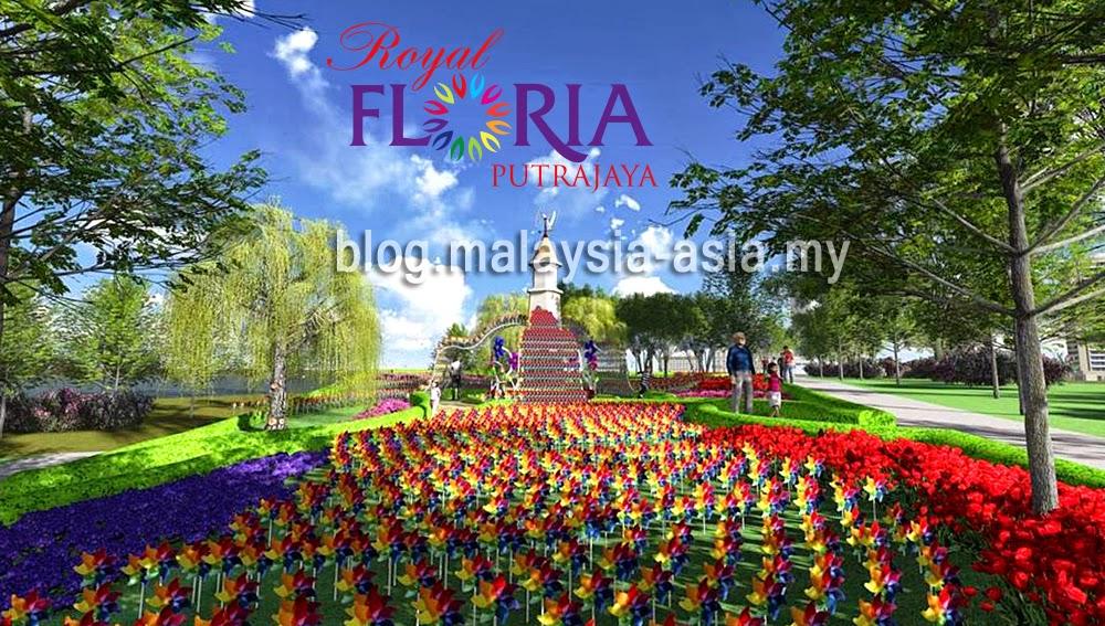 Floria Diraja Putrajaya 2015