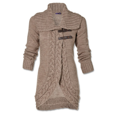 gilet grosse maille mexx