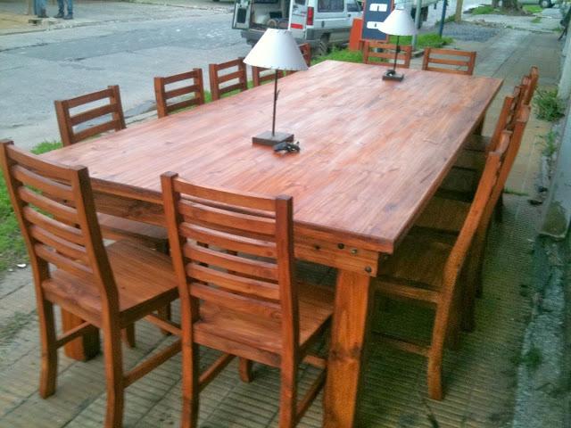 Fabrica de mesas y sillas en zona norte for Sillas para quincho