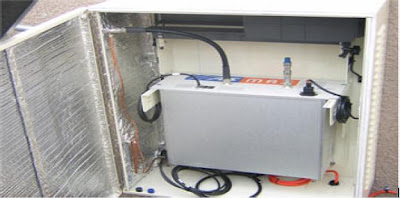 why radio in a weather resistant or weatherproof enclosure near the antenna ?
