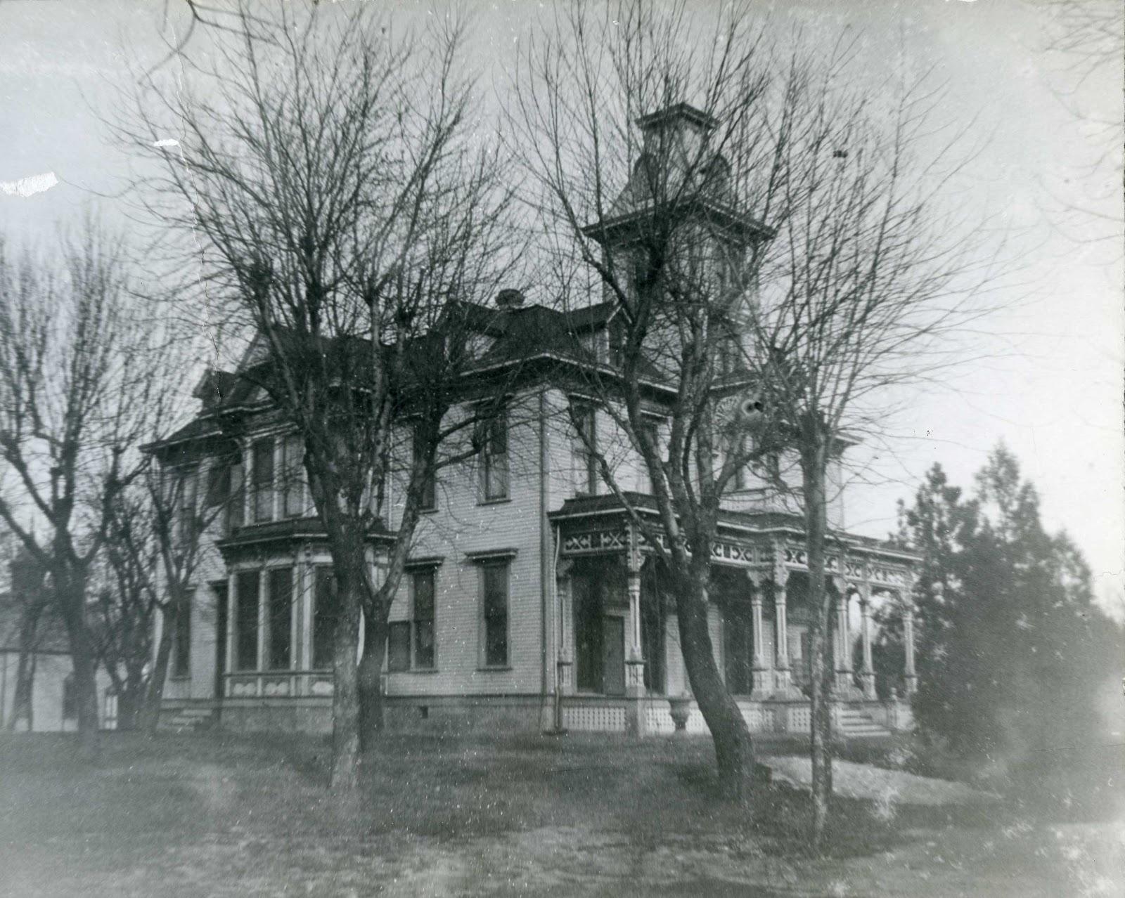 Kansas dickinson county abilene - The Kirby House As It Appeared During Thomas Kirby S Lifetime