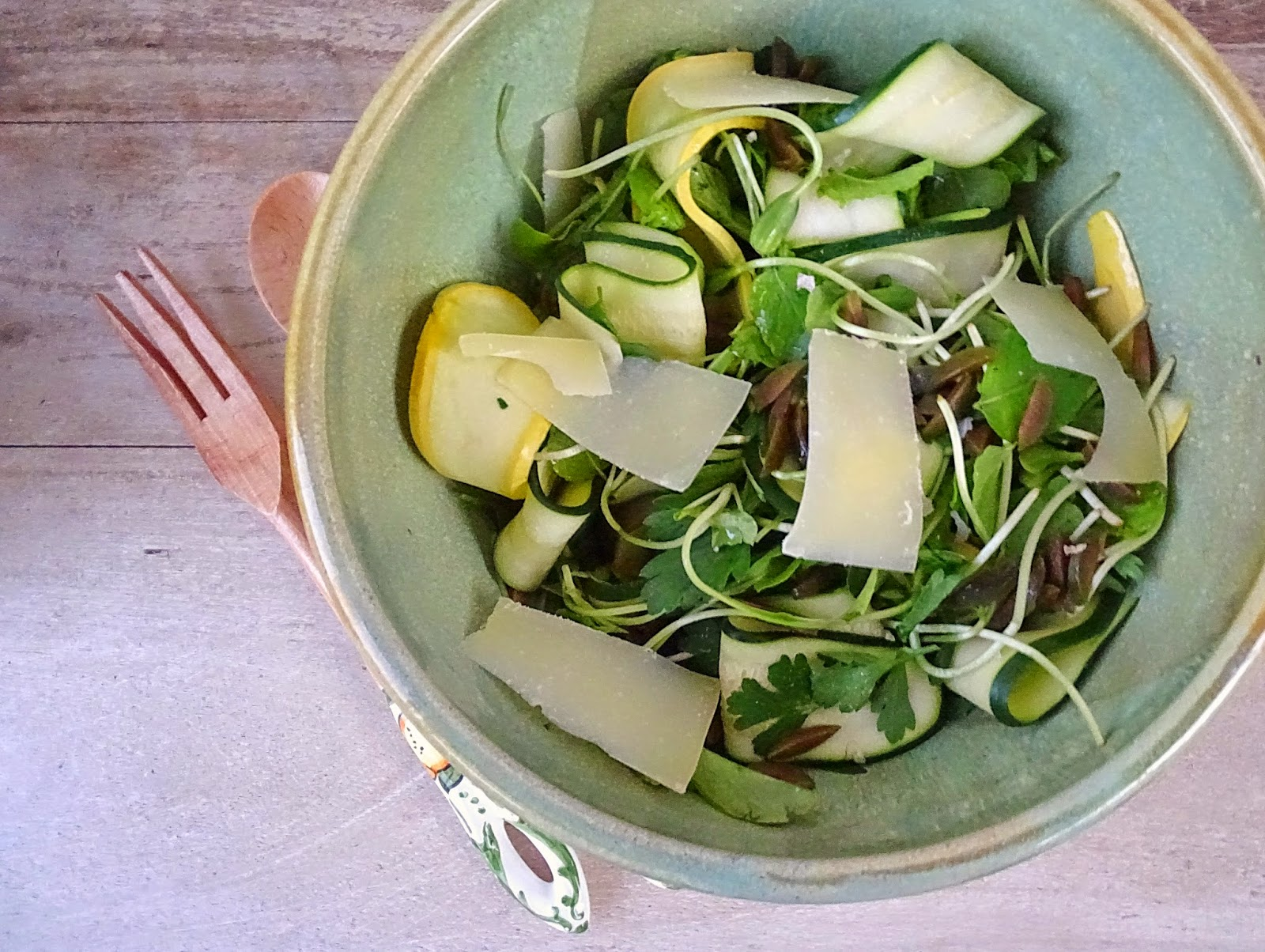 ... : Listing to Normal What's cooking? Herbed Salad with Squash Ribbons