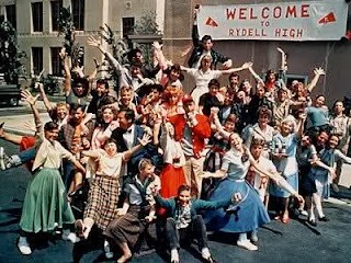 Rydell High band name history - rydell-high-grease