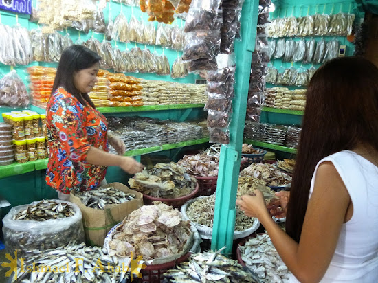 Dried fishes at Puerto Princesa palengke