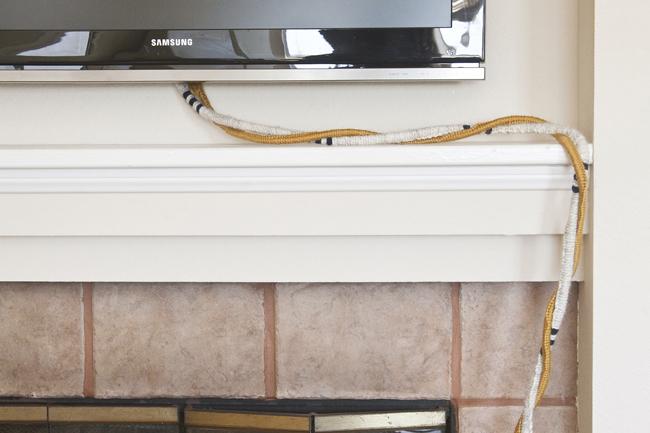insideways: Make Your TV Wires Pretty!