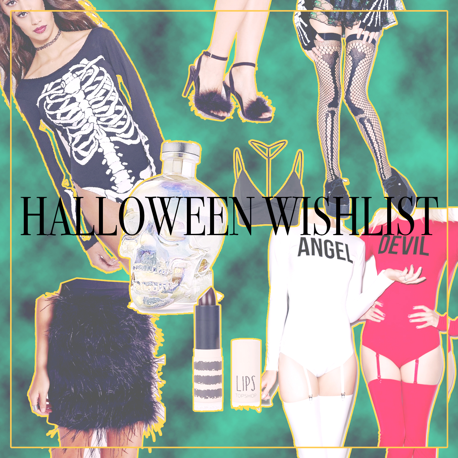 HALLOWEEN WISHLIST/ COSTUME PLANNING