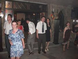 Aspecte din timpul petrecerii la Cavalerul Medieval, 24.VI.2011...