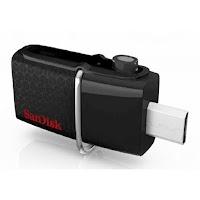 4 SanDisk USB 30 Ultra Dual Drive OTG 32GB GARANSI RESMI