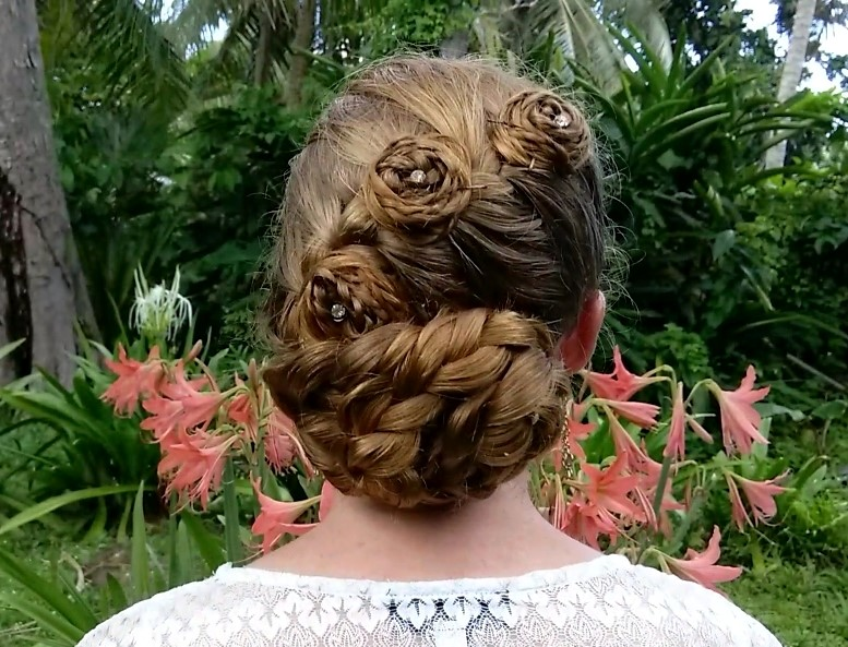 Braided Updo's