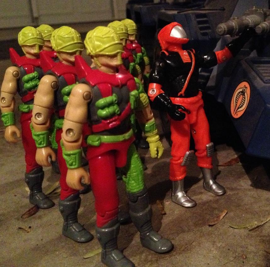 1993 Cyber Viper, Mega Marines, 1994 Detonator, Flak Viper, Nitro Viper